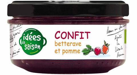 Confit bio betterave et pomme - Idées de saison