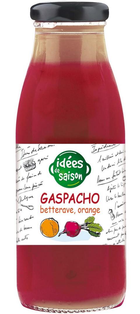 Gaspacho bio betterave orange - Idées de saison