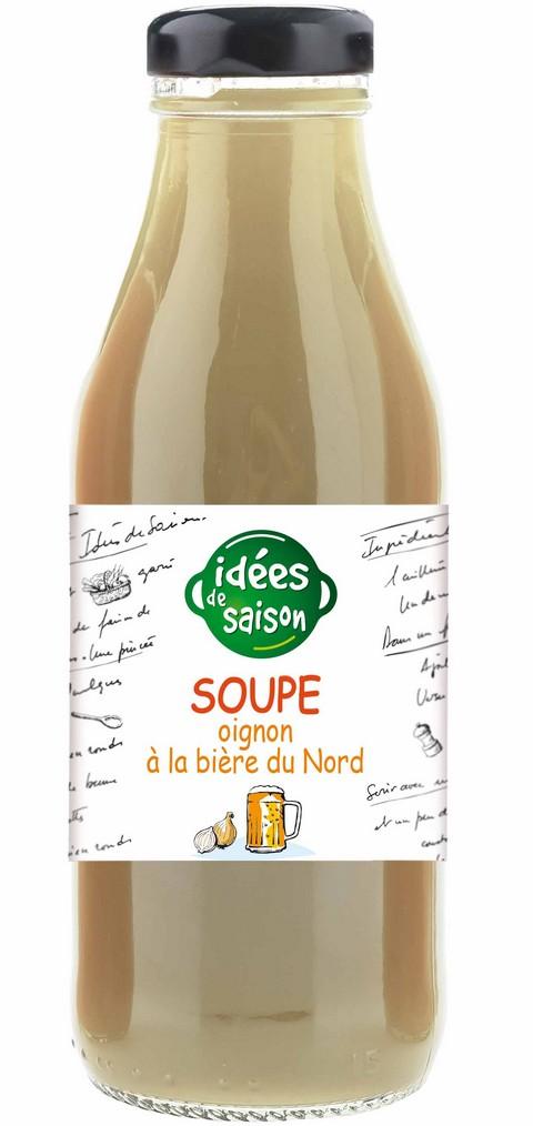Soupe bio oignon à la bière du nord - Idées de saison