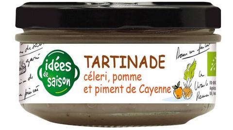 Tartinade bio céleri pomme et piment de cayenne - Idées de saison