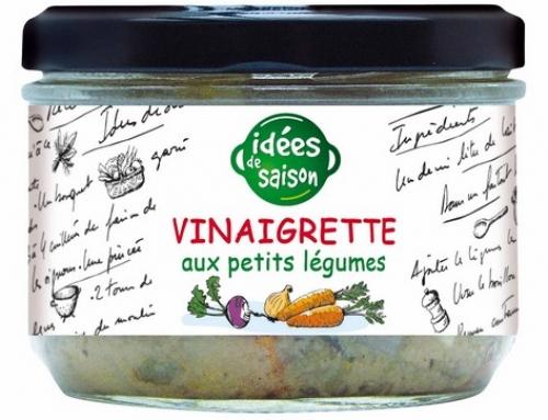 Vinaigrette aux petits légumes