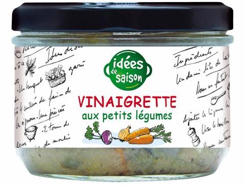 Vinaigrette bio aux petits légumes - Idées de saison