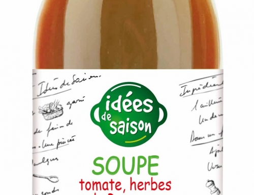 Soupe tomate, herbes de Provence